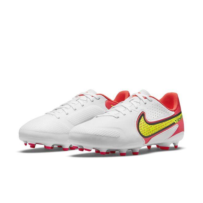 Afbeelding van Nike Tiempo Legend 9 Club MG Kids White Volt