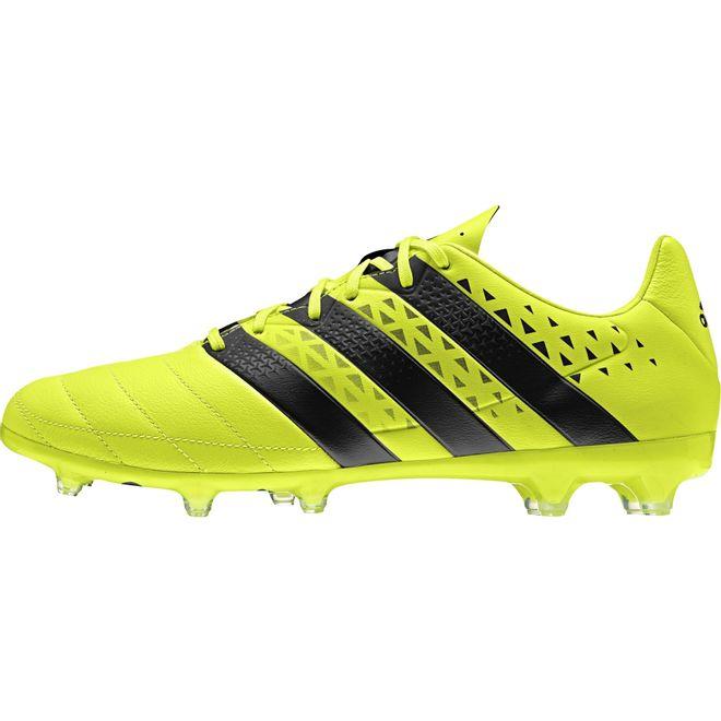 Afbeelding van Adidas ACE 16.2 Leather Geel FG