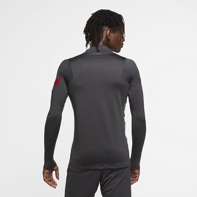 Afbeelding van Liverpool FC Strike Top Anthracite Gym Red