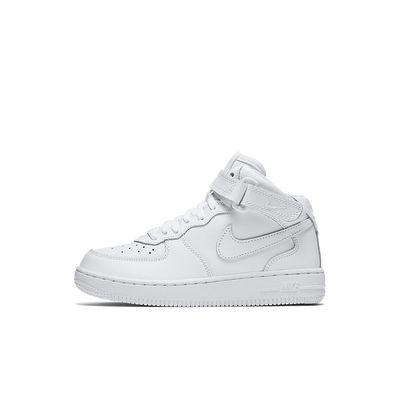 Foto van Nike Air Force 1 Mid Kids White