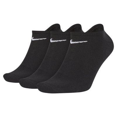 Foto van Nike Value No-Show Sokken 3 paar Black