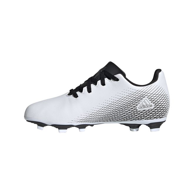 Afbeelding van Adidas X Ghosted 4 FG Kids White Silver