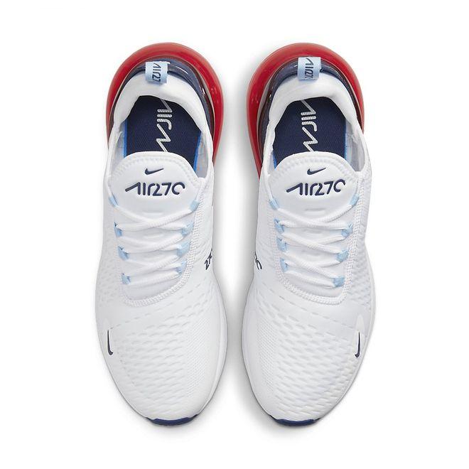 Afbeelding van Nike Air Max 270 White Blue Red