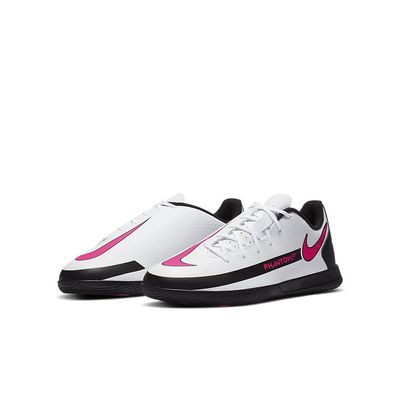 Foto van Nike Phantom GT Club IC Kids White Pink