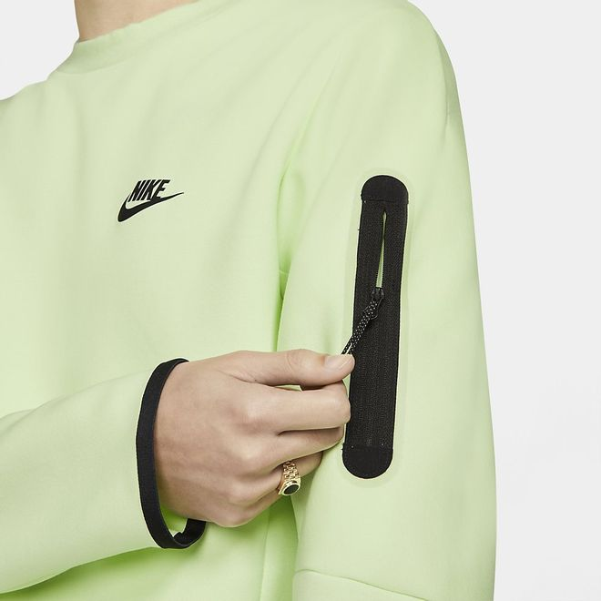 Afbeelding van Nike Sportswear Tech Fleece Sweater Light Liquid Lime