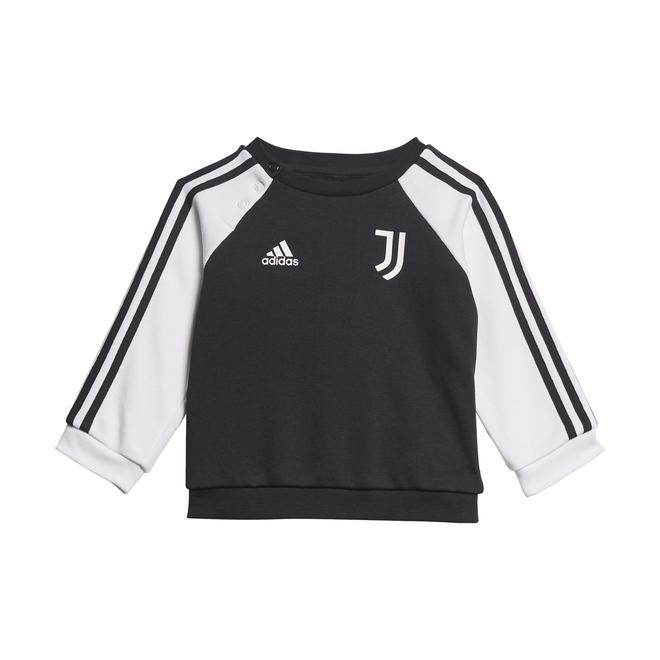 Afbeelding van Juventus 3-Stripes Baby Joggingpak Black White
