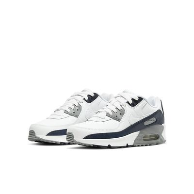 Foto van Nike Air Max 90 Kids Leather White Grey