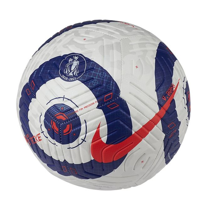 Afbeelding van Nike Premier League Strike Voetbal White Blue Laser Crimson
