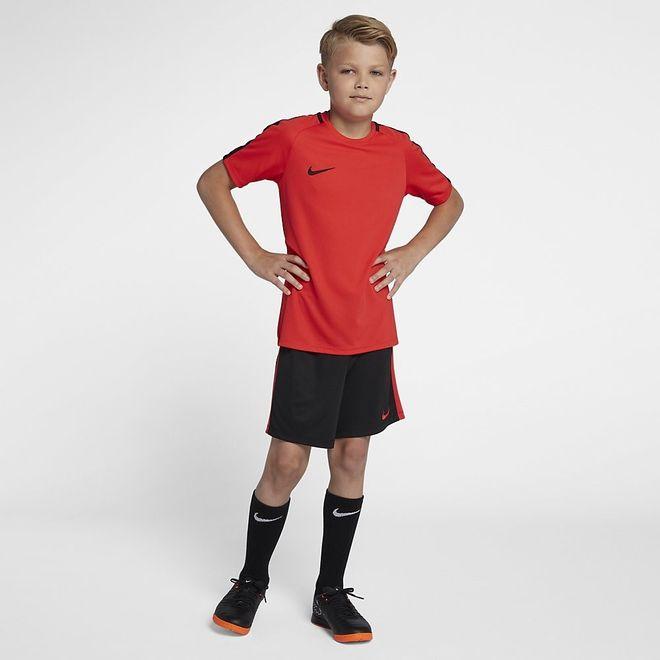 Afbeelding van Nike Dri-FIT Academy Short Kids Black Crimson