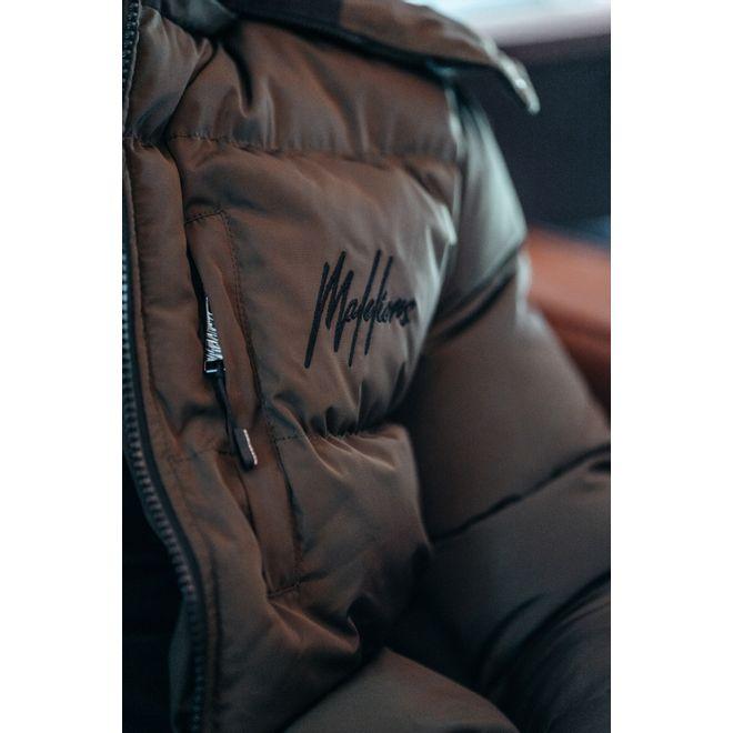 Afbeelding van Malelions Sport Astro Puffer Jacket Army