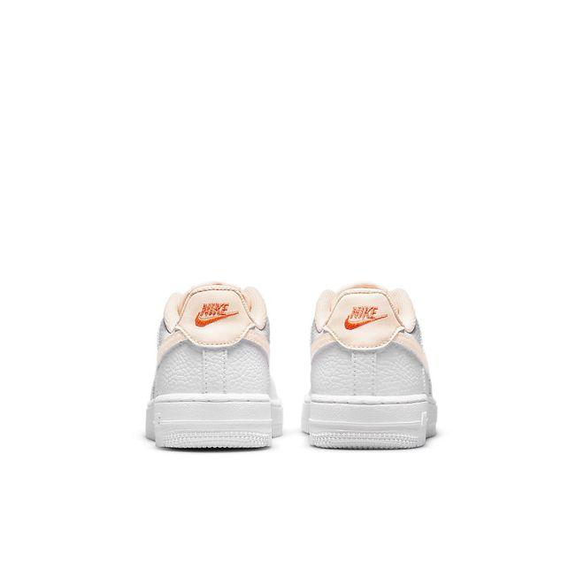 Afbeelding van Nike Force 1 White Kids Crimson Tint