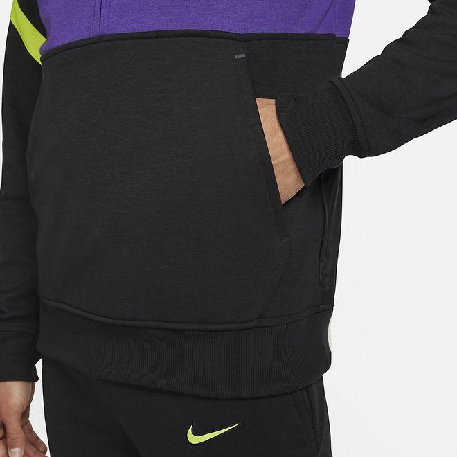 Afbeelding van Tottenham Hotspur Hooded Fleece Set Black Court Purple