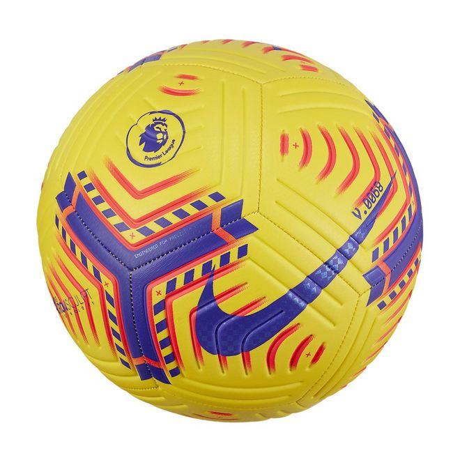 Afbeelding van Nike Premier League Strike Voetbal Yellow Laser Crimson