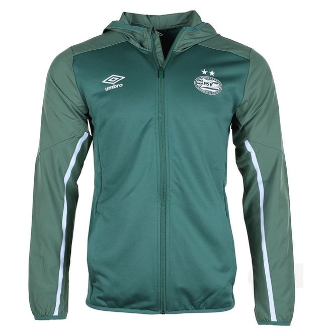 Afbeelding van Umbro PSV Trainingspak Hooded Set Smoke Pine