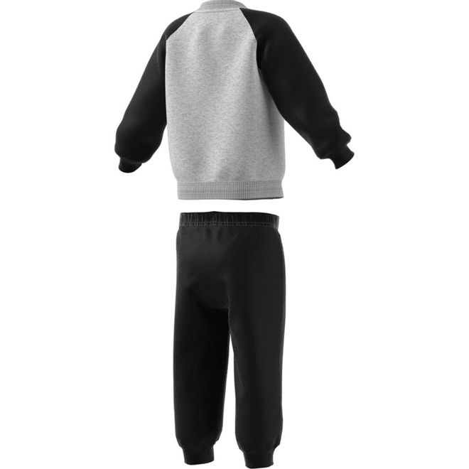Afbeelding van Adidas Linear Fleece Joggingpak Infants Medium Grey