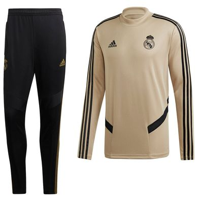 Foto van Real Madrid Trainingsset Raw Gold