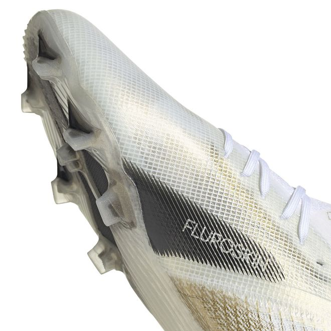 Afbeelding van Adidas X Ghosted 1 FG Kids White Silver