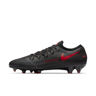 Foto van Nike Phantom GT Pro FG Black Chile Red