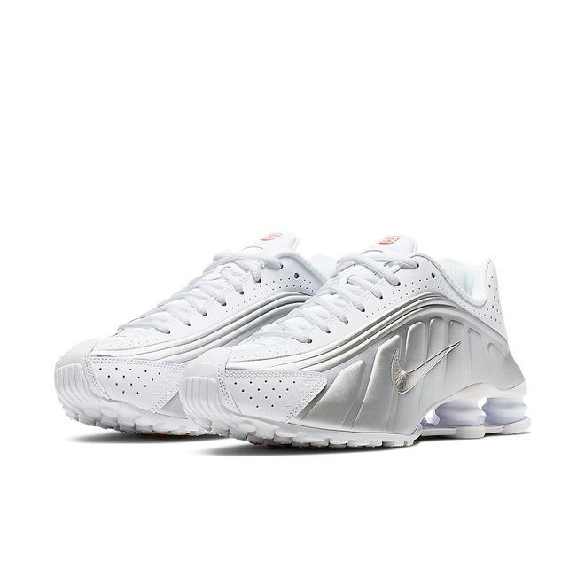 Afbeelding van Nike Shox R4 White Silver