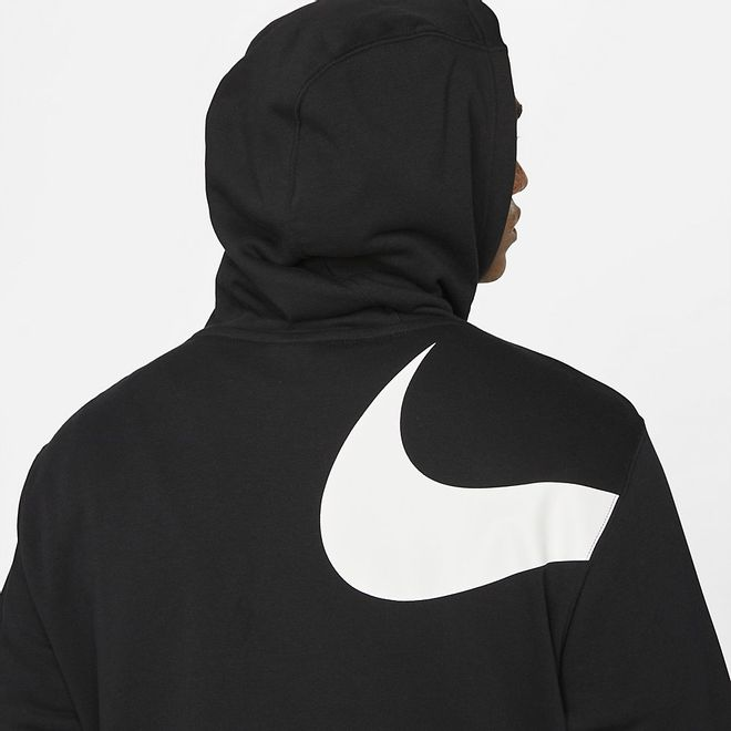 Afbeelding van Nike Sportswear Swoosh Hoody Set Black
