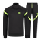 Afbeelding van Malelions Sport Pre-Match Quarterzip Tracksuit Black Neon Yellow