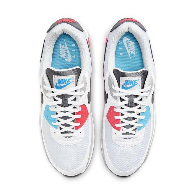 Afbeelding van Nike Air Max 90 White Iron Grey