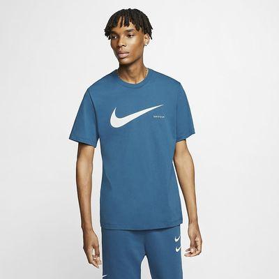 Foto van Nike Sportswear Swoosh T-Shirt Blue Force