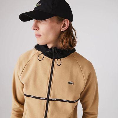 Foto van Lacoste Sport Hooded Vest Beige