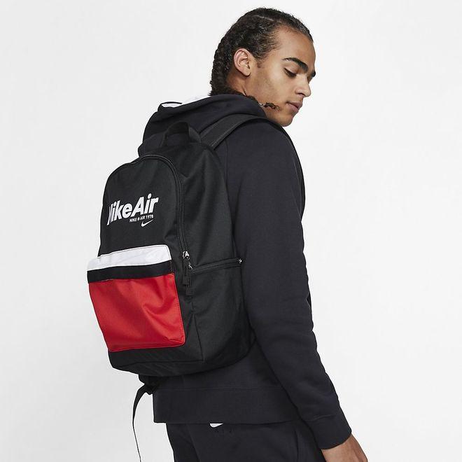 Afbeelding van Nike Air Heritage 2.0 Rugzak Black Red