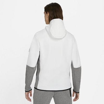 Foto van Nike Sportswear Tech Fleece Hoodie White Black Carbon
