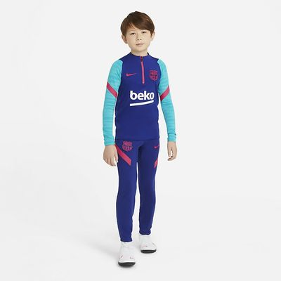 Foto van FC Barcelona Strike Set Kids Deep Royal Blue