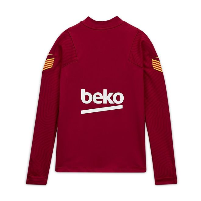 Afbeelding van FC Barcelona Dri-FIT Strike Drill Set Kids Noble Red
