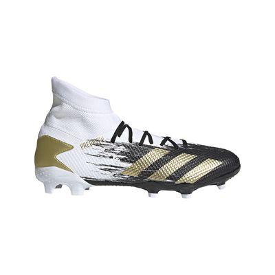 Foto van Adidas Predator 20.3 FG White Gold
