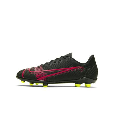 Foto van Nike Mercurial Vapor 14 Club FG/MG Kids Black