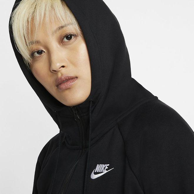 Afbeelding van Nike WMNS Essential Hoodie FZ Fleece Black