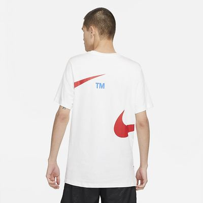 Foto van Nike Sportswear T-Shirt White Red