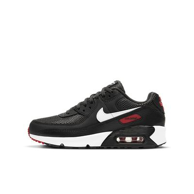 Foto van Nike Air Max 90 Leather Kids Dark Smoke Grey