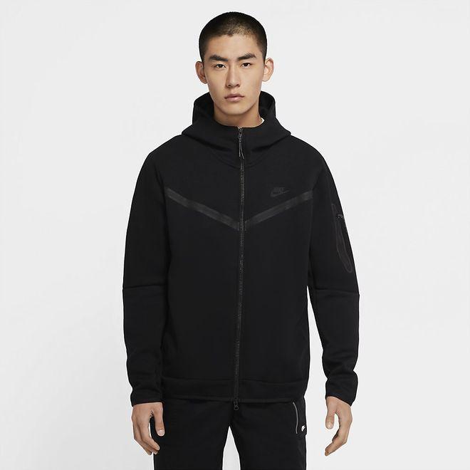 Afbeelding van Nike Sportswear Tech Fleece Hoodie Black