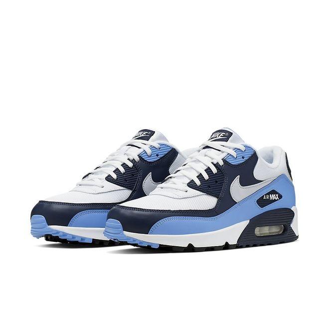 Afbeelding van Nike Air Max 90 Essential White Platinum Blue