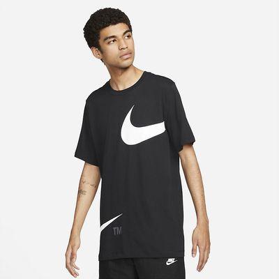 Foto van Nike Sportswear T-Shirt Black White