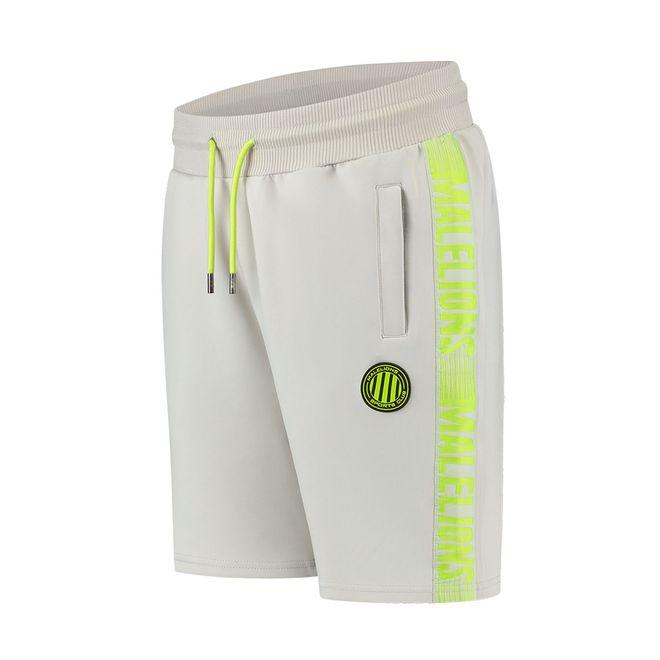 Afbeelding van Malelions Sport Striker Summer Set Grey Lime