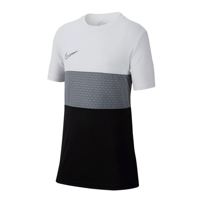 Afbeelding van Nike Dri-FIT Academy GX Shirt White Cool Grey Kids