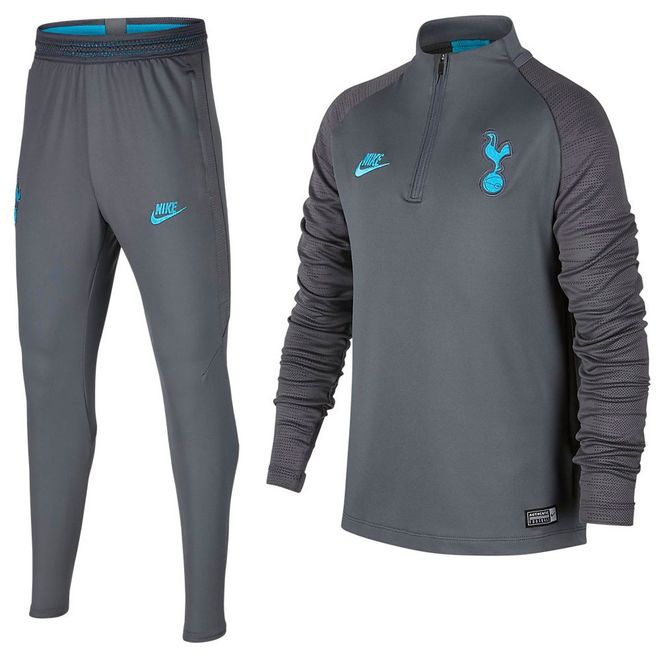 Afbeelding van Tottenham Hotspur Dri-FIT Squad Drill Set Kids Flint Grey