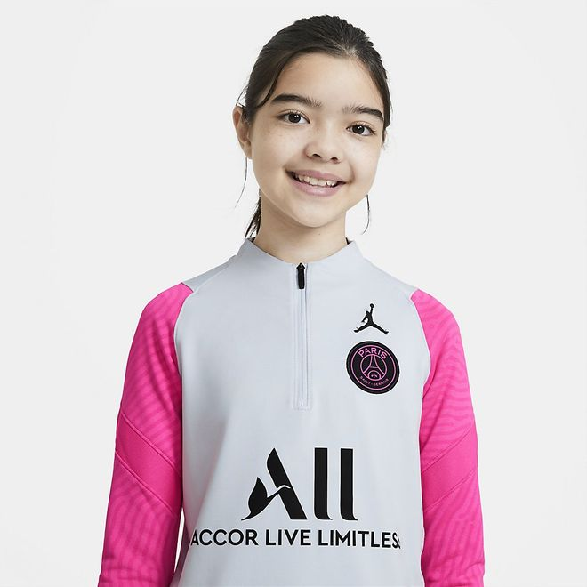 Afbeelding van Paris Saint-Germain Strike Set Kids Pure Platinum