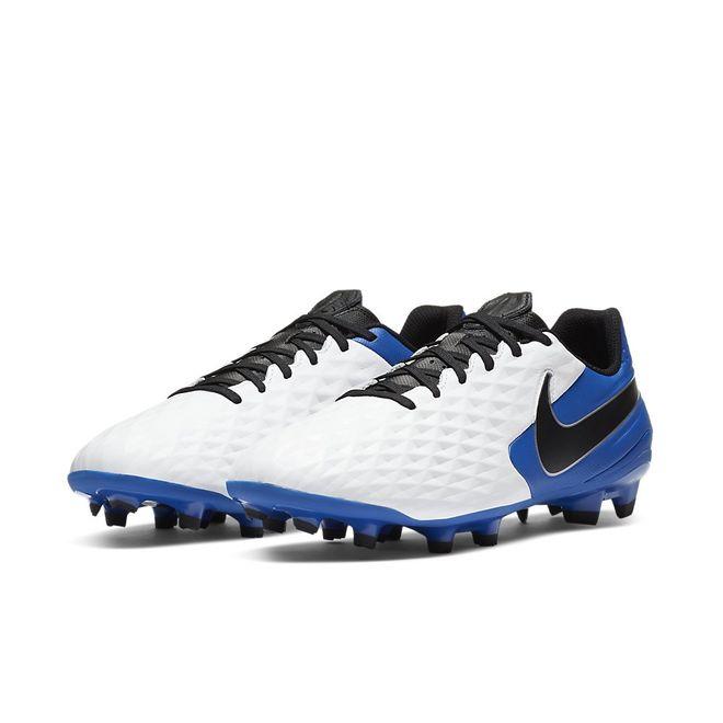 Afbeelding van Nike Legend 8 Academy FG White Hyper Blue
