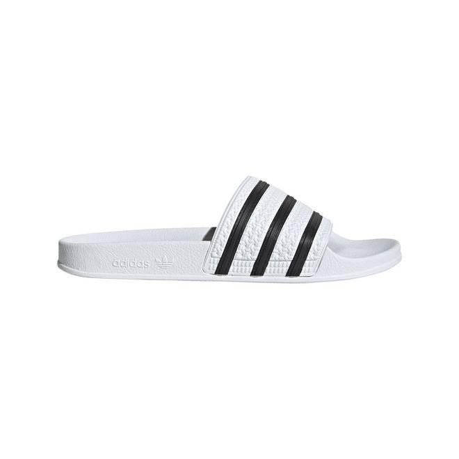Afbeelding van Adidas Adilette Slippers White-Black