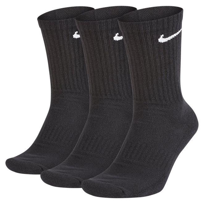 Afbeelding van Nike Everyday Cushioned Black Sokken 3 paar