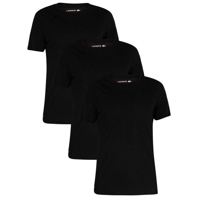 Afbeelding van Lacoste Set van 3 T-shirts Black