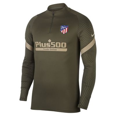 Foto van Atlético de Madrid Dri-FIT Strike Drill Set Cargo Khaki
