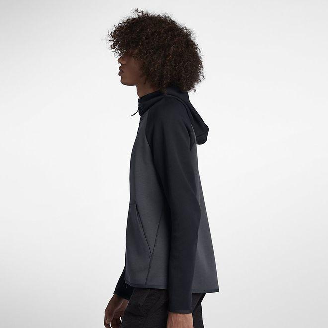 Afbeelding van Nike Sportswear Tech Fleece Hoodie Anthracite Black